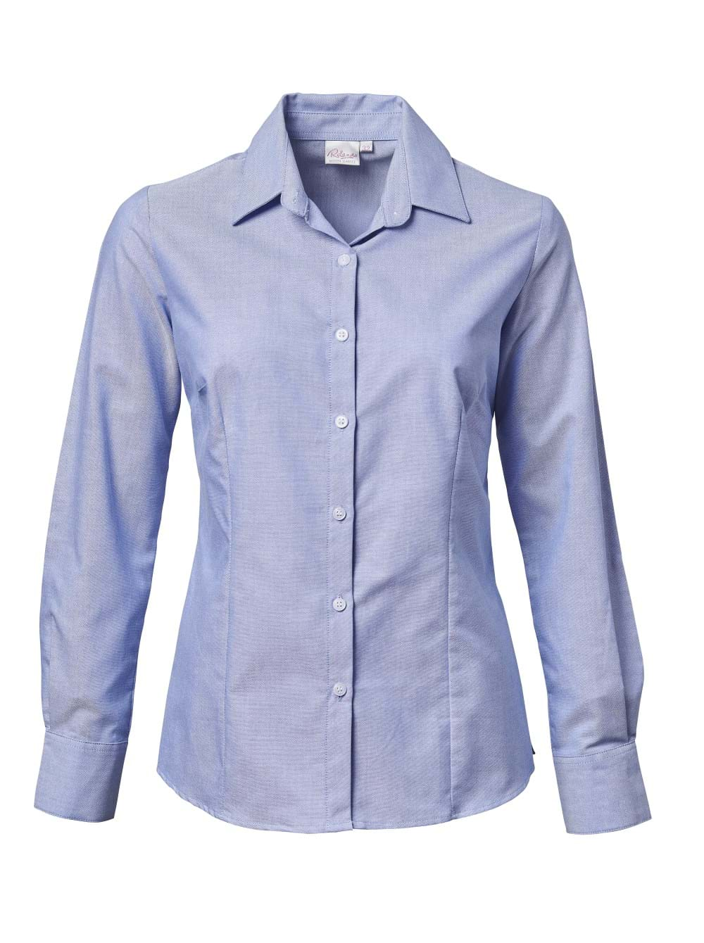 Ladies Oxford K373 L/S Blouse